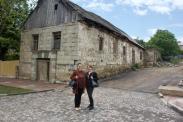 4.6.18 Dshuletta und Nino vor der alten Mühle