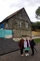 4.6.18 Dshuletta, Nadja und Nino vor der alten Mühle